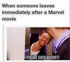 Not gonna lie. People started leaving after Guardians 2 and I just laughed and called them idiots!