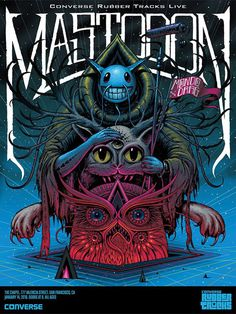 Mastodon - Jeff Soto - 2016 ----