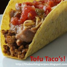 Photo source: The Best Blog Recipes http://thebestblogrecipes.blogspot.com/ I know what you're thinking.... Tofu, no thanks. That's what my family said.   But since I cook all of our meals they kin...