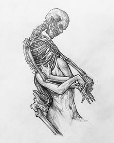 Image may contain: drawing – Art Sketches Dark Art Drawings, Drawing Sketches, Tattoo Drawings, Drawing Drawing, Tattoos, Skeleton Art, Arte Horror, Creepy Art, Dope Art