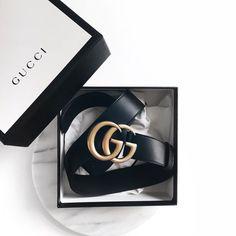 Gucci - belt - inspiration - street style - fashion - white - black - gold - Etoile Luxury Vintage