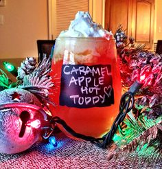 Caramel Apple Hot Toddy - The Cookie Rookie thecookierookie.com