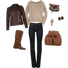 Katniss Inspired Outfit
