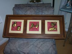 Cuadro madera y ziña Online Art, Pewter, Sculptures, Canvas, Metal, Frame, Interior, Diy, Home Decor
