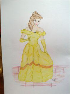 Belle © Michaela Lukášová (Deresa, Artist-Raven)