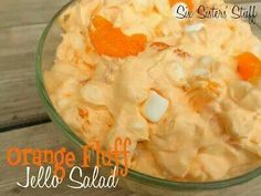 orange fluff jello salad