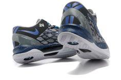 Nike Kobe 8 System iD Men's Basketball Shoe Dark gray blue