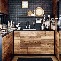 this kitchen // via artemisia & co