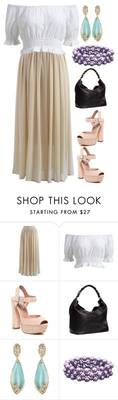 Mix & Match: Summer Outfit #283 by mscody on Polyvore featuring Chicwish, Steve Madden, H&M, Honora, Alexis Bittar, Summer, summerstyle, summeroutfit and summerfashion