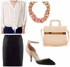 3 Office-Appropriate Outfits for Summer Jobs & Internships - College Fashion College Fashion, Office Fashion, Work Fashion, Skirt Fashion, Daily Fashion, Fitness Fashion, Fashion Tips, Dressy Attire, Work Attire