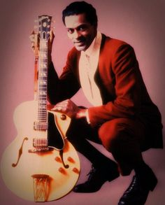 Chuck Berry Chuck Berry, Berries, Guitar, Fictional Characters, Style, Art, Singers, Swag, Art Background