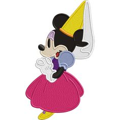 Girl Mouse Damsel  Applique OR Embroidery file  by Verytrulyurstoo, $3.50