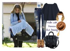 """""""Walk with Brianna and Freddy"""" by loulou1811 ❤ liked on Polyvore featuring Mavi, Yves Saint Laurent, CÉLINE, Christian Dior, Nails Inc., Potting Shed Creations, MANGO, dayout, louistomlinson and casualoutfit"""