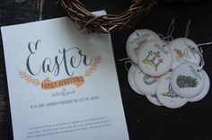 Free Easter Family Devotional Kit, with Jesus Tree Ornaments and Family Activity Ideas