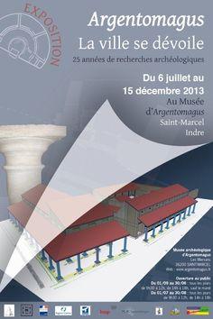 Argentomagus, la ville se dévoile. Exposition 2013. http://www.argentomagus.fr