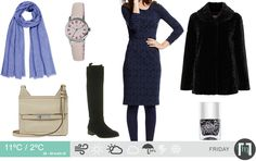 The daily forecast for December Daily Weather, Fashion Forecasting, December, London, My Style, Polyvore, Image, London England