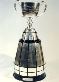 The Grey Cup is a trophy competed for annually by teams in the Canadian Football League. Football Awards, Football Hall Of Fame, Football Team, Sports Trophies, Football Trophies, Winnipeg Blue Bombers, Canadian Football League, Grey Cup, Canada Eh