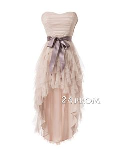 Sweetheart Tulle Short Prom Dresses,Homecoming Dresses – 24prom #prom #promdress #homecoming