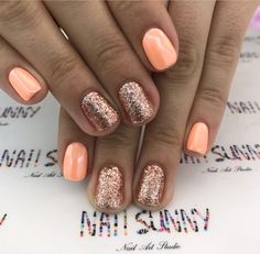 coral coast or corally yours, and tokyo lights is part of Cute nails Desing Videos - Cute nails Desing Videos Fancy Nails, Cute Nails, Pretty Nails, Fall Nail Art Designs, Colorful Nail Designs, Shellac Nail Designs, Cute Acrylic Nails, Glitter Nails, Gold Nails