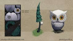 ArtStation - House 'n' Owl, Jakob Gavelli