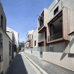 Galeria de Tetris: habitação social e estúdios de artistas / Moussafir Architectes - 2