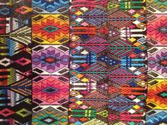 Textile from Chichicastenango, Guatemala that I got for mom!!