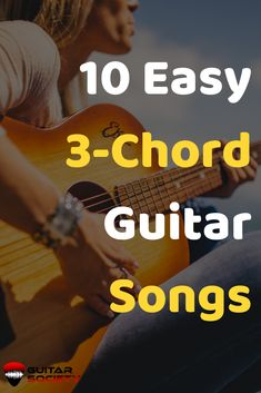 Wondering what songs to play with just 3 chords? Check out this guide for 10 songs that sound great on guitar and only use 3 guitar chords. Guitar Chords Beginner Songs, Learn Guitar Beginner, Guitar Songs For Beginners, Learn Acoustic Guitar, Acoustic Guitar Chords, Music Theory Guitar, Learn Guitar Chords, Guitar Chords For Songs, Music Guitar