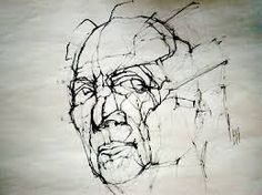 Image result for giacometti drawings heads