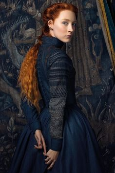 On this day in 433 years ago, my favorite historical figure, Mary Stuart, was executed at Fothetinghay Castle, just outside… Fantasy Photography, Portrait Photography, Fashion Photography, Poses, Mary Queen Of Scots, Movie Costumes, Looks Vintage, Costume Design, Redheads