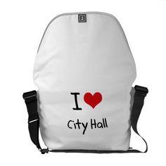 I love City Hall Messenger Bags