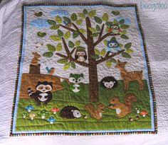 baby shower woodland animal theme | Next, my woodland animals ... : animal baby quilt patterns - Adamdwight.com