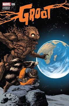 #Groot (2015) #6 #Marvel (Cover Artist: Declan Shalvey) Release Date: 11/25/2015