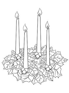 Advent wreath printable coloring pages Catholic Advent Wreath, Advent Wreath Prayers, Christmas Advent Wreath, Christmas Colors, Christmas Candles, Advent Wreaths, Reindeer Christmas, Nordic Christmas, Modern Christmas