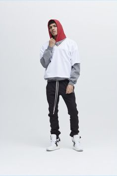 Designer Jerry Lorenzo takes a slight departure from his grunge influenced collections of the past. Fear of God's fall-winter 2017 collection tackles a sporty aesthetic. Lorenzo envisions the high school athlete who shoots hoops and owns a comfortable wardrobe. Related: The High Street Edit | Forward Spotlights Fear of God + More The vision for... [Read More]