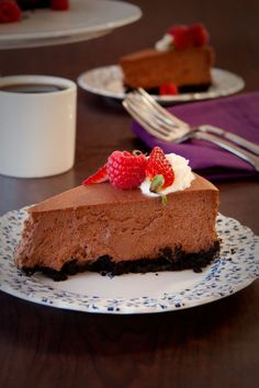 #Epicure Chocolate Velvet Cheesecake #MothersDay