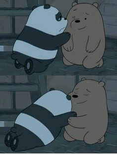 Ben ve ava We Bear, Pooh Bear, Cartoon Memes, Cartoon Shows, Cartoons, Cute Cartoon Wallpapers, Cute Wallpaper Backgrounds, We Bare Bears Wallpapers, Cute Friend Pictures