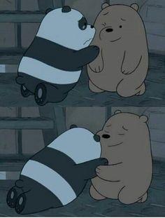 Ben ve ava We Bear, Pooh Bear, Bear Wallpaper, Wallpaper Iphone Cute, We Bare Bears Wallpapers, Cartoon Memes, Cartoons, Cute Cartoon Wallpapers, Cute Friends