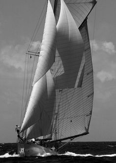 Classic Yacht Sailing in the Caribbean by Lucy Tulloch
