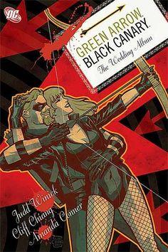 Green Arrow/Black Canary: The Wedding Album Issue 1 #ComicBookWeddings