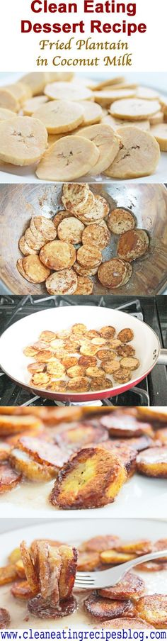 Healthy Dessert Recipe: Fried Plantain in Coconut Milk   Weight Loss Meals and Recipes - Clean Eating Recipes