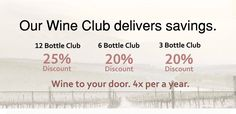 Do you love wine? Yeah, join the club. No, really! You get convenience and savings with our Wine Club. http://www.venturewines.com/Wine-Club