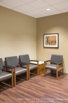 Patient Waiting Area inSt. Mary's Hospital in Nebraska City Architectural and Framed Art by KJP http://www.kurtjohnsonphotography.com/