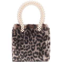 49eb049904 Shrimps Faux-Fur Tote ( 565) ❤ liked on Polyvore featuring bags
