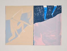 Messner - Palefroi - handcrafted books and art prints - silkscreen - berlin