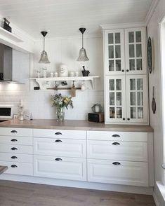 65 Gorgeous Farmhouse Gray Kitchen Cabinets Ideas