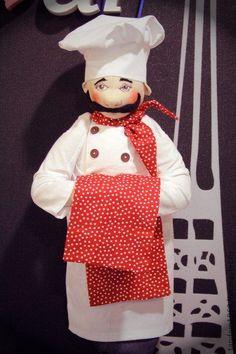 Кукла повар  выкройка 154