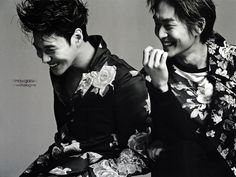 taemin and onew - L'Officiel Hommes Magazine March Issue '13