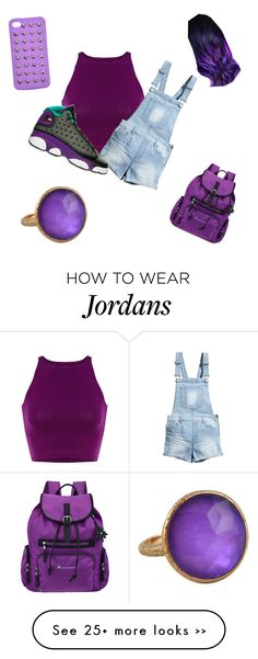 """#Flavahz"" by rashawna-68 on Polyvore featuring H&M, Sherpani and 4WE"