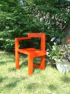 Rietveld's Steltman Chair
