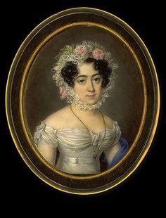 Jean Baptiste Singry Allegedly Nancy Bradford Dewolfe circa 1820